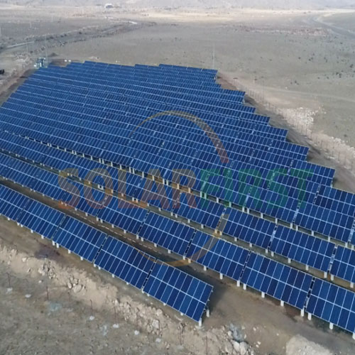 1.5MW Solar Ground Mounting Project in Armenia 2019