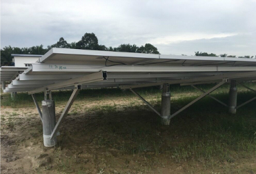 13MW PHC Solar Ground Project Finished Installation