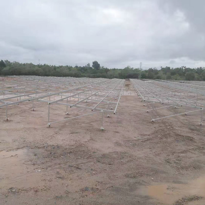 6.164MW Solar Ground Mounting Rroject in Malaysia 2019